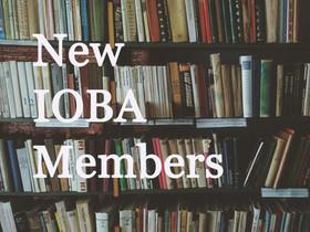New IOBA Members: First Quarter 2020