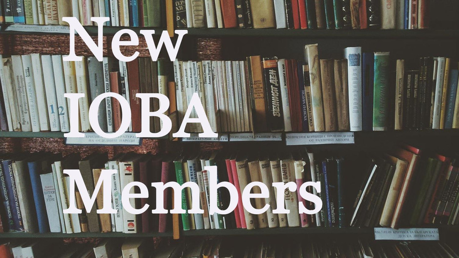 New IOBA Members: Second Quarter 2020