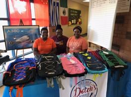 Book Bag Giveaway at Gilliard Elementary School