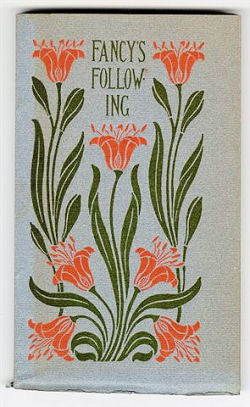 Fancy's Following (1900) with cover design by Isadore B. Paine
