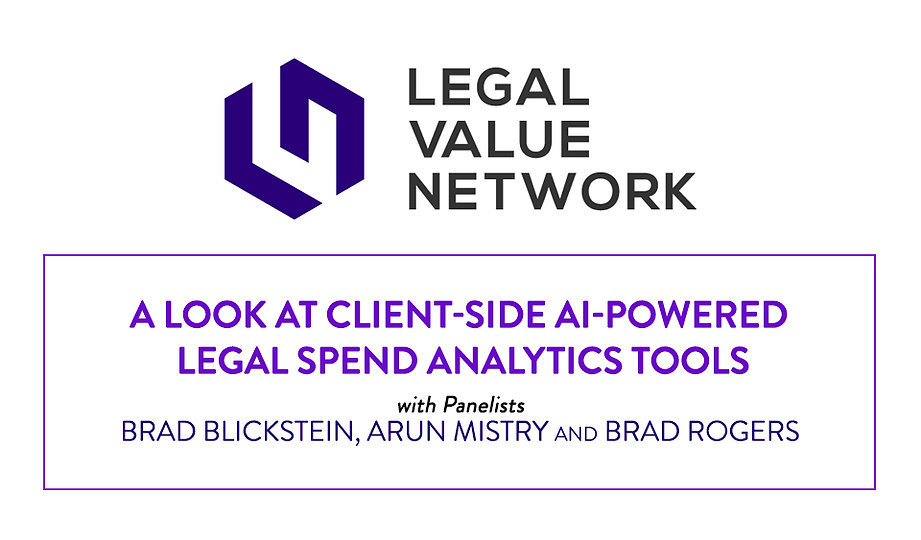 A Look at Client-Side AI-Powered Legal Spend Analytics Tools