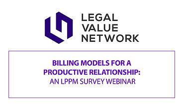 Billing Models for a Productive Relation
