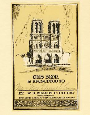 Bookplates: W. B. Brandt & Co.
