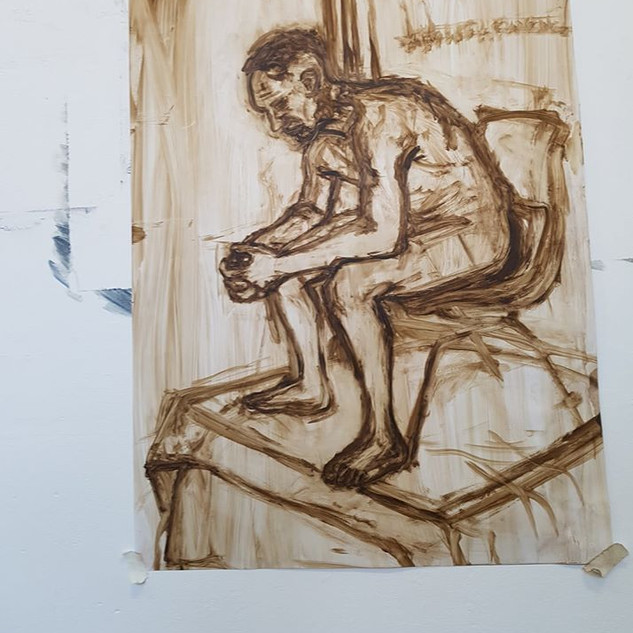 Sketch (Life painting), 2018