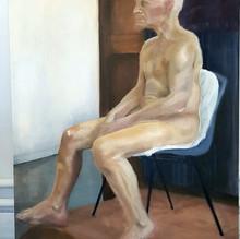 Untitled (Life painting man), 2018