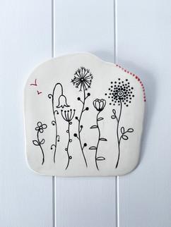 Porcelain Hanging no.62