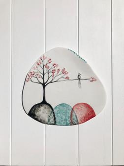 Porcelain Hanging no:30 SOLD