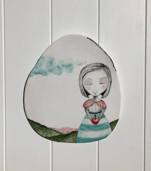 Porcelain Hanging no: 25 SOLD