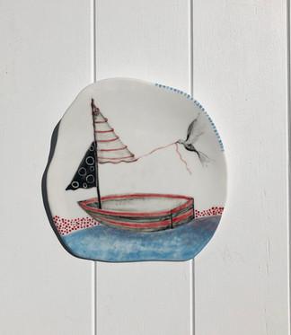 SOLD Porcelain Hanging no:31