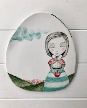 Porcelain Hanging no:25  SOLD