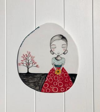 Porcelain Hanging no: 24 SOLD