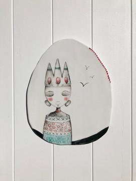 Porcelain Hanging no:23 SOLD