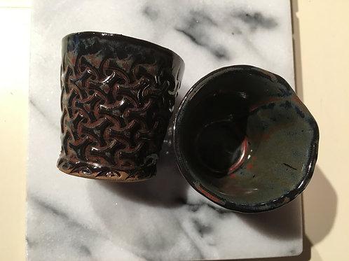 Shot Glass - Ancient Jasper Basket