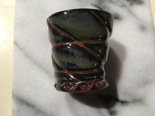 Shot Glass -Ancient Jasper Pillow