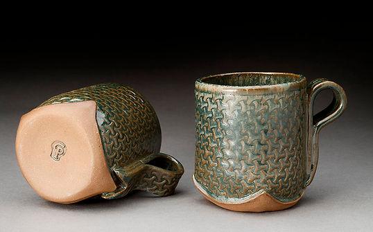 Agate texture mugs