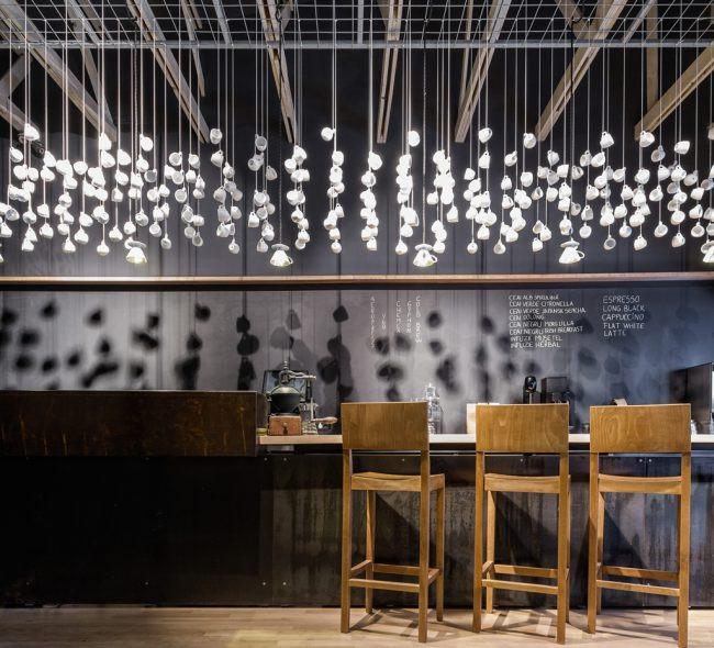 Iluminação - café