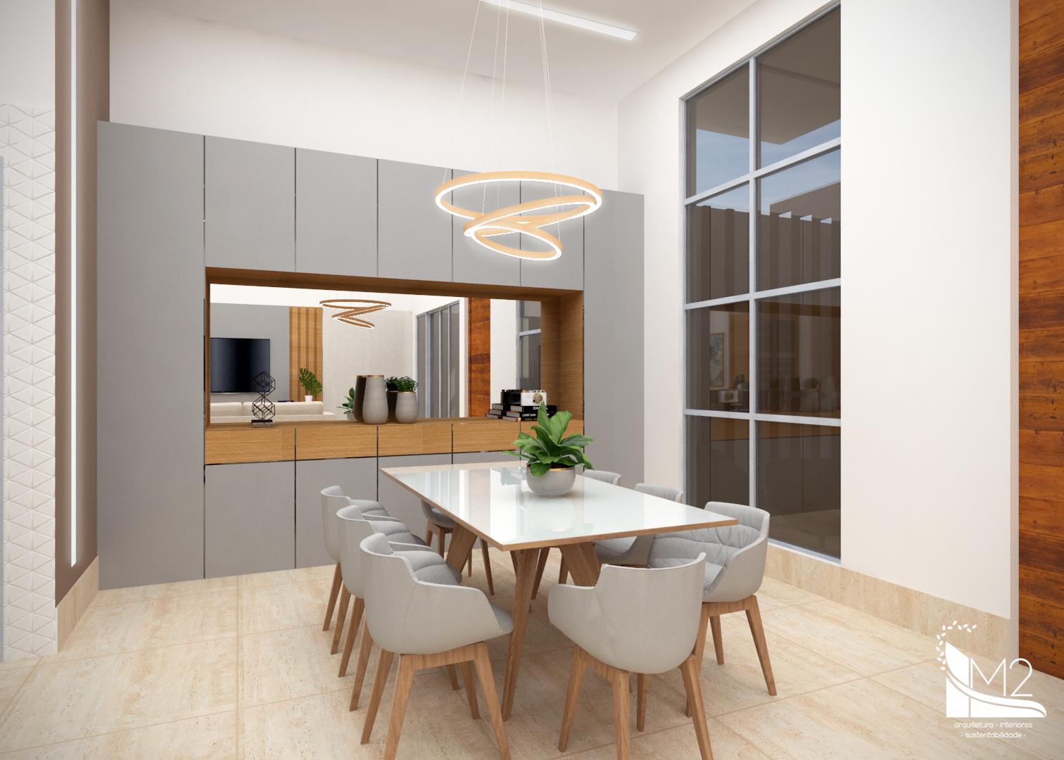 Sala de TV, Jantar e Cozinha