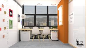projeto espaço de trabalho organizado