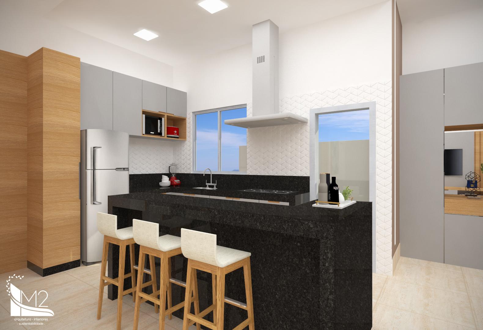 Sala de TV, Jantar e Cozinha5
