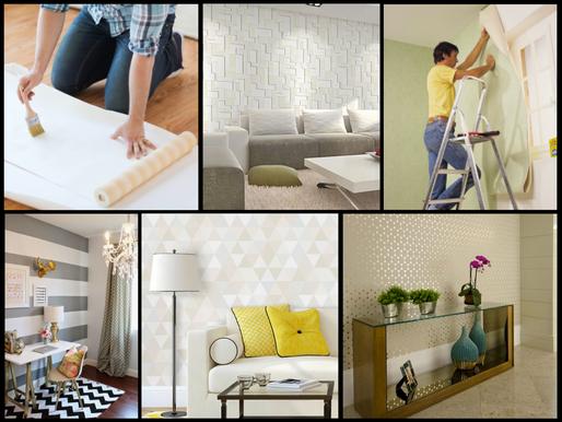 Papel ou tecido de parede: qual a melhor opção?