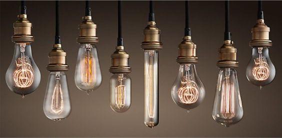 Modelos de lâmpadas de filamento