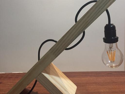 DICAS DA M2: D.I.Y - Como fazer uma luminária de mesa?