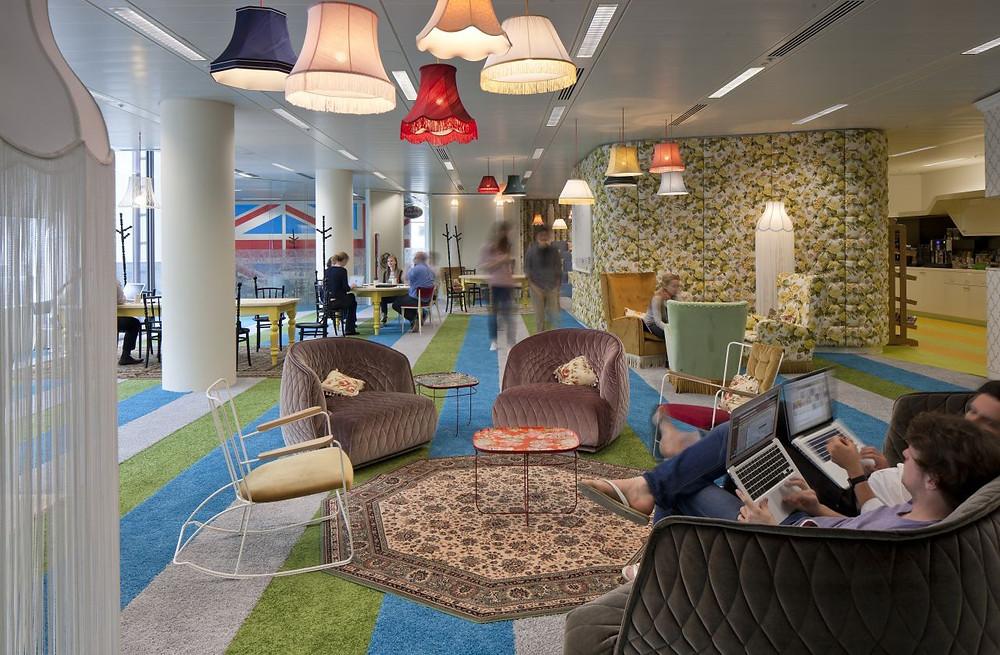 Sede da Google em Londres