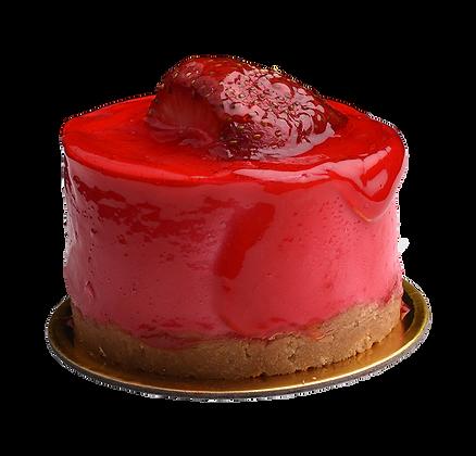 STRAWBERRIES CHEESE CAKE