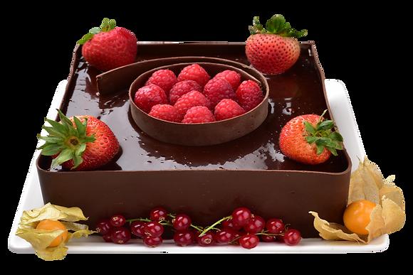 CHOCOLATE CAKE- كعكة الشوكولاتة