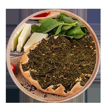 Spinach Manoucheh - منقوشة السبانخ