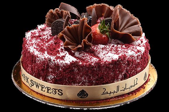 RED VELVET CAKE - كيكة الفلفت الاحمر