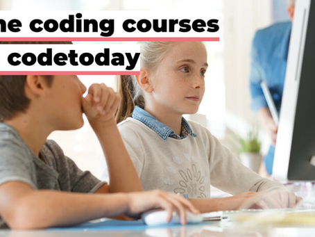 Announcing online coding courses from codetoday