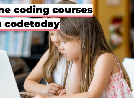 Online coding courses, our journey so far.