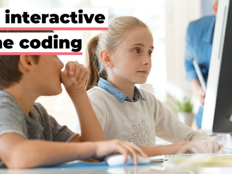 Weekly online coding courses for kids