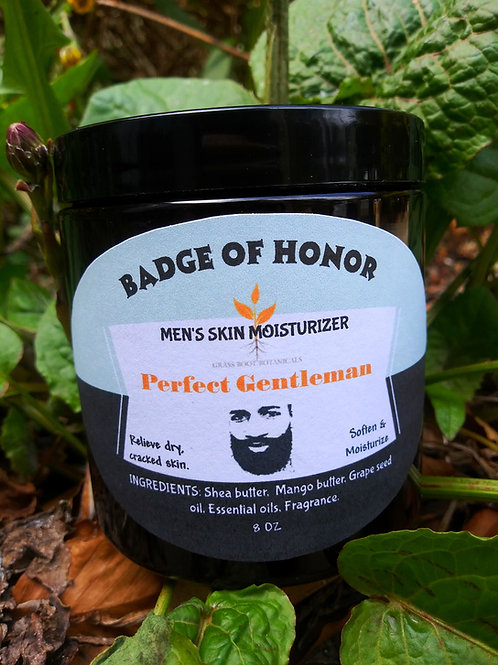 Men's Skin Moisturizer / Perfect Gentleman Herbal Skincare