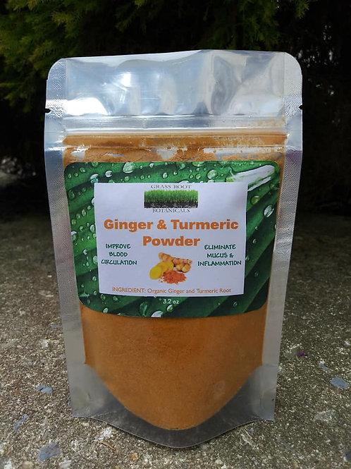 Ginger & Turmeric Powder