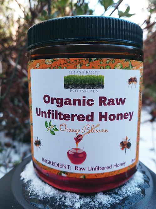 Raw Organic Unfiltered Honey - Orange Blossom