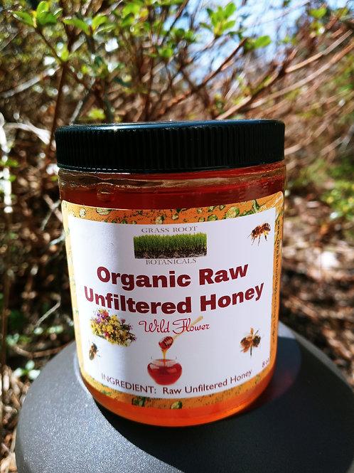 Raw Organic Unfiltered Honey - Wildflower