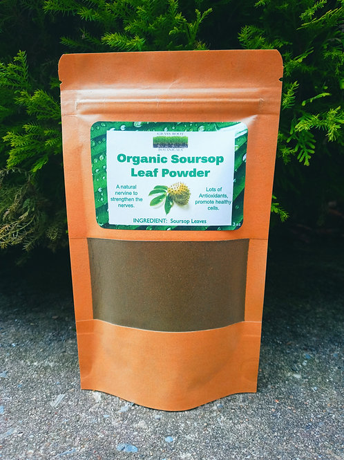 Organic Soursop Leaf Powder