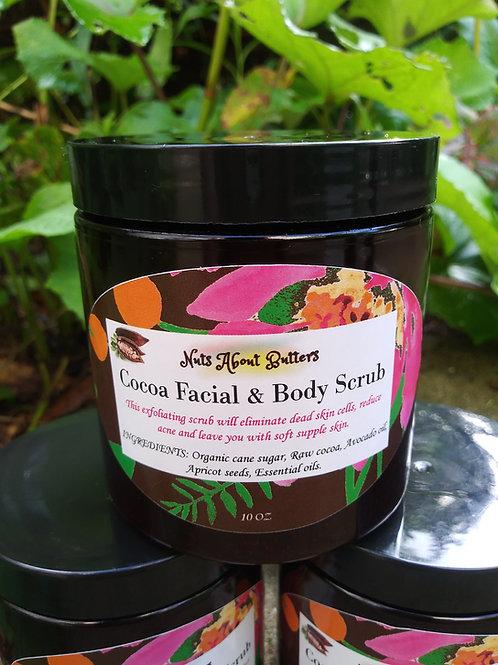 Cocoa Facial & Body Scrub