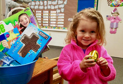Someone found the golden egg!