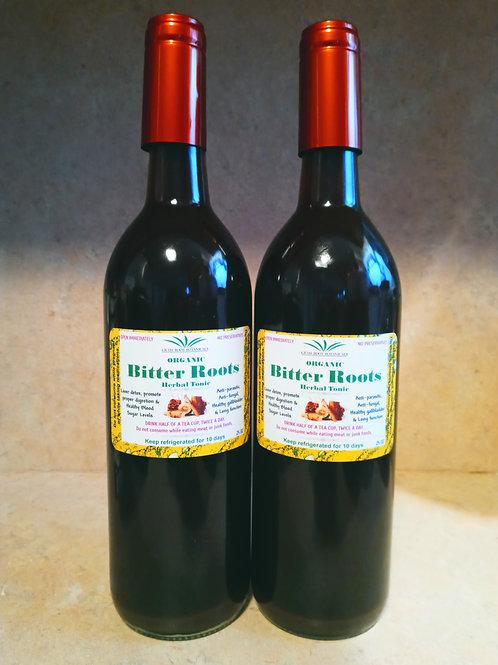 Bitter Roots Herbal Tonic (2 bottles)