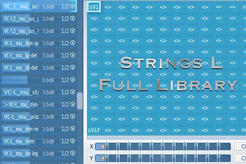 Articulate Presets for Strings L Full