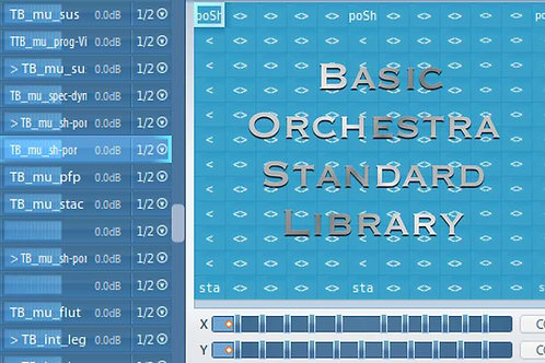 Articulate Presets for Basic Orchestra Standard