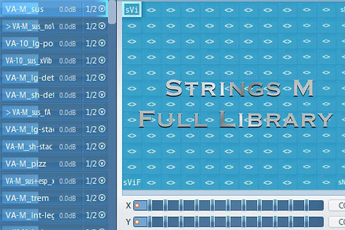Articulate Presets for Strings M Full