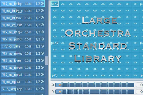 Articulate Presets for Large Orchestra Standard