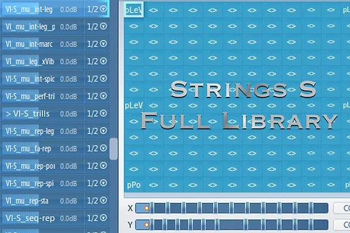 Articulate Presets for Strings S Full