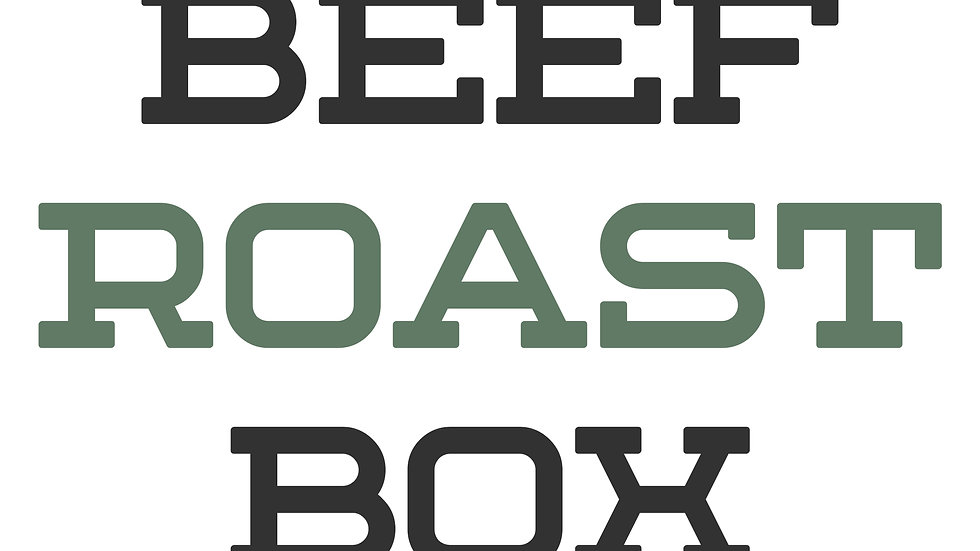 Beef Roast Box