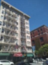Dakota Hotel on Post Street