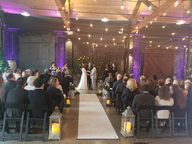 Wedding at Jackson Terminal!